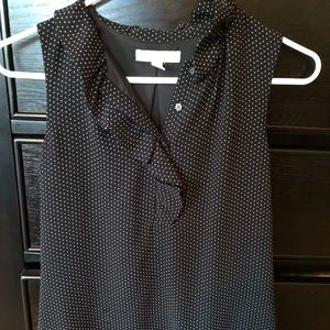 Banana Republic polka dot blouse Size 0